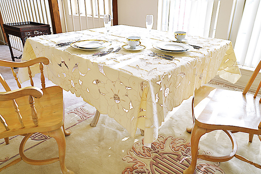 Empress Square tablecloth