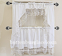 Lace Windows Curtains Tuscany