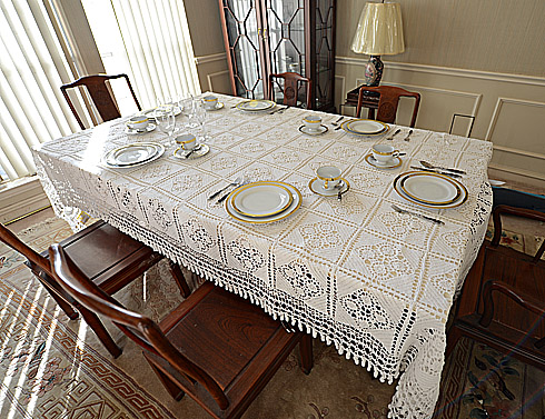Crochet Tablecloths.