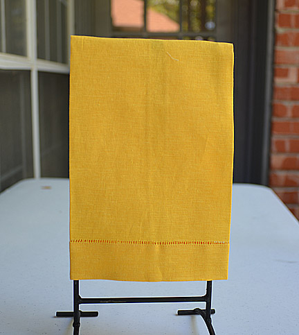 Guest Towel Yellow (Bright) color